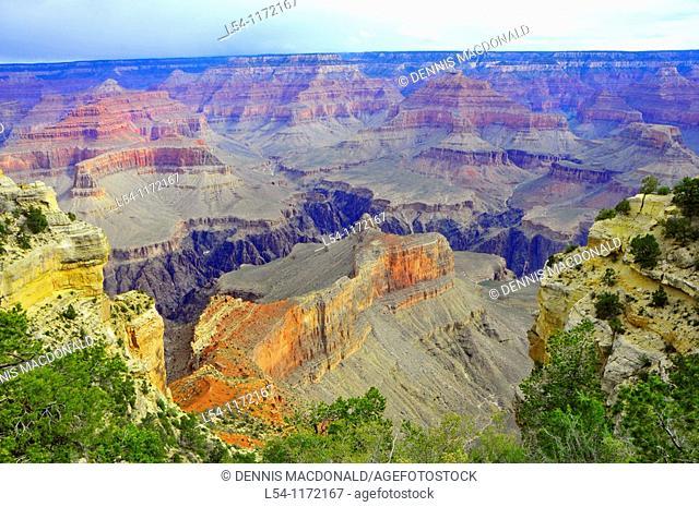 South Rim Vista Grand Canyon National Park Arizona