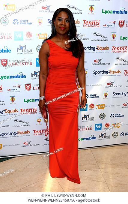 British Ethnic Diversity Sports Awards 2016 - Arrivals Featuring: Tessa Sanderson Where: London, United Kingdom When: 06 Feb 2016 Credit: Phil Lewis/WENN