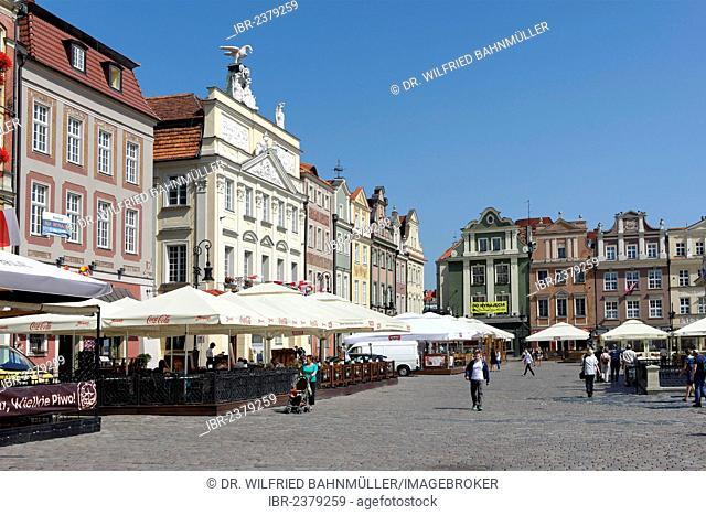 Old Town Square, Stary Rynek, Poznán, Poland, Europe