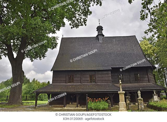 St. Leonard's Church of Lipnica Murowana Malopolska Province (Lesser Poland), Poland, Central Europe