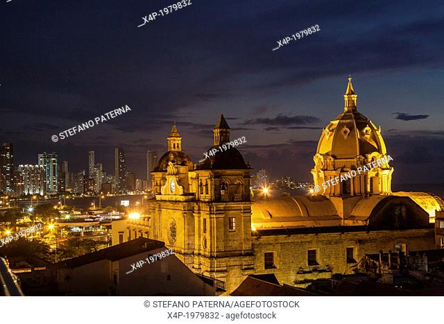 Church of San Pedro Claver and Monastery, Cartagena, Colombia