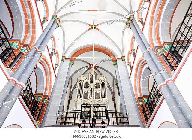 Germany, Rhineland-Palatinate, Bacharach, St.Peters Church, Interior View