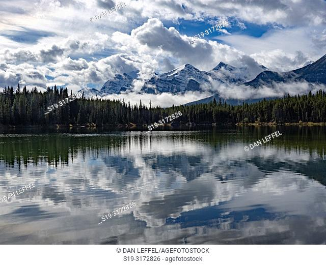 Canadian Rockies. Herbert Lake