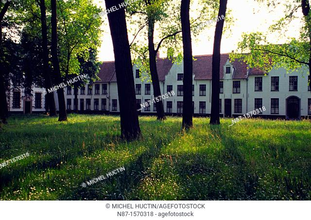 Belgium, Bruges, The Beguinage