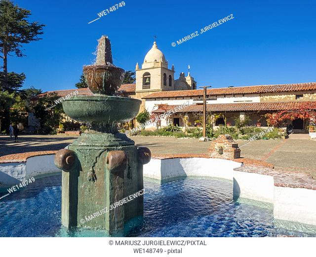 Mission Carmel is a Roman Catholic mission church in Carmel-by-the-Sea, California