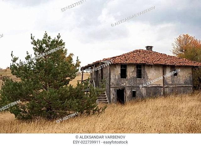 Abandoned mountain house
