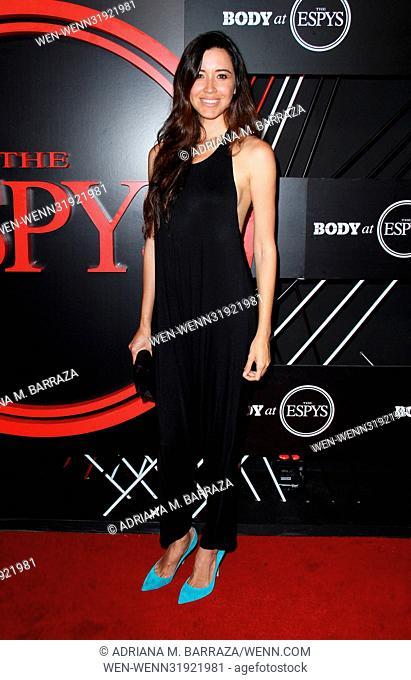 BODY at ESPYs Party held at the Avalon Hollywood - Arrivals Featuring: Alejandra Campoverdi Where: Los Angeles, California