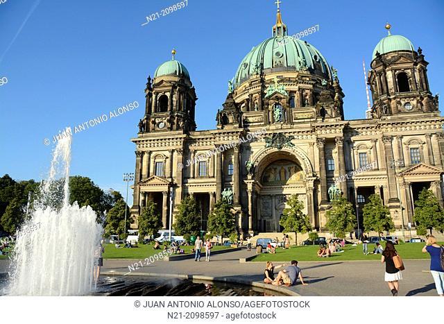 Berlin Cathedral (Berliner Dom). Berlin, Germany, Europe