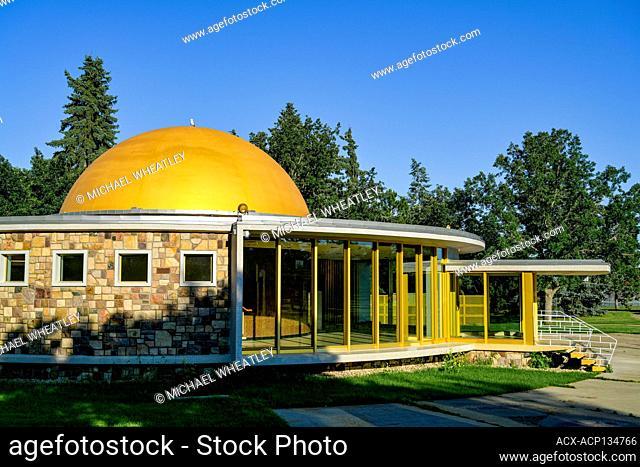 Queen Elizabeth II Planetarium, Coronation Park, Edmonton, Alberta, Canada