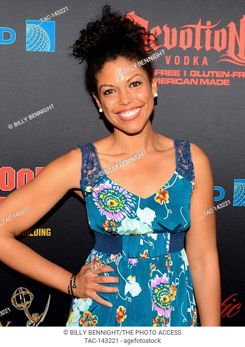 Karla Mosley arrives at the 44th Annual Daytime Emmy Awards Nominee Reception at The Hollywood Museum on April 26th in Hollywood