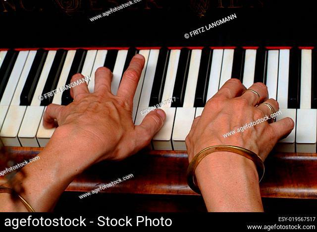betastet Klavier, Musik, Tastatur