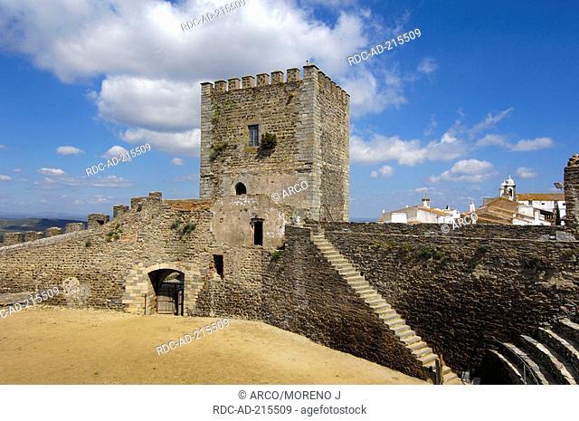 Castelo de Monsaraz, Monsaraz, Alentejo, Portugal