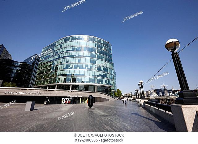 more london riverside place with the scoop London England UK
