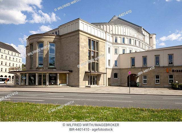Opera House, Wuppertal, Bergisches Land, North Rhine-Westphalia, Germany