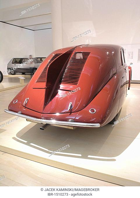 Tatra Type 77, Mitomacchina exhibition, Museum of Modern Art, MART, Rovereto, Italy, Europe