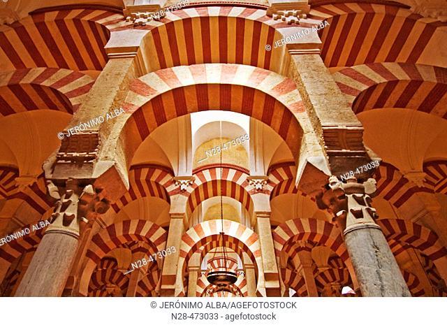 Great Mosque interior, Córdoba. Andalusia, Spain
