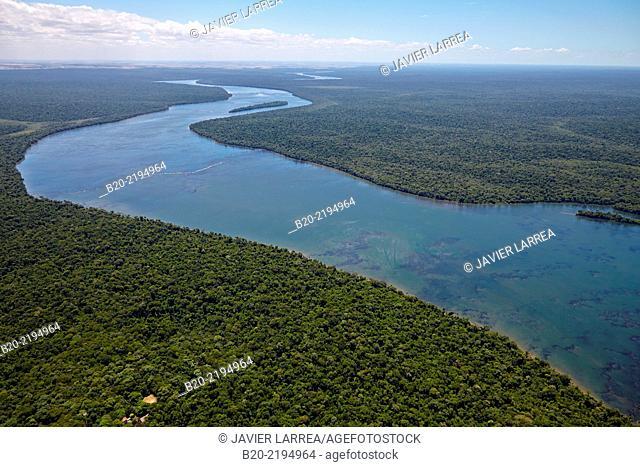 Iguazú River. Iguazú National Park. Argentina/Brazil
