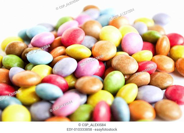 Colorful background of gums