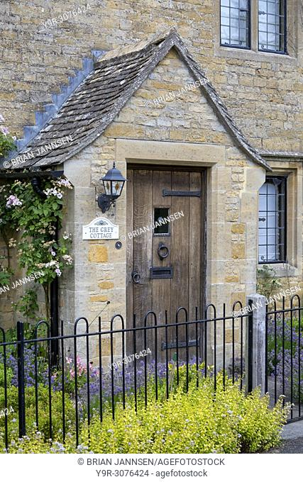 The Grey Cottage - home in Lower Slaughter, the Cotswolds, Gloucestershire, England, UK