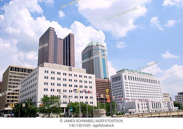 Downtown buildings, Columbus, Ohio