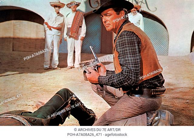 Les eperons noirs Black Spurs  Year: 1965 USA Rory Calhoun  Director: R.G. Springsteen. WARNING: It is forbidden to reproduce the photograph out of context of...