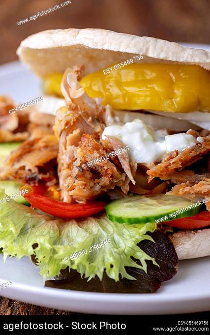 fast food, snack, doner kebab