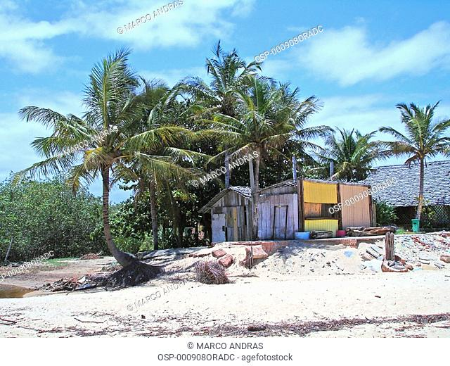 a simple and rustic beach house from bahia
