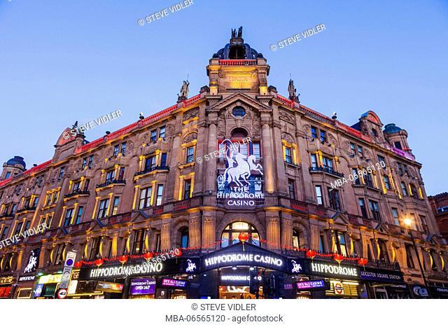 England, London, Soho, Leicester Square, The Hippodrome Casino