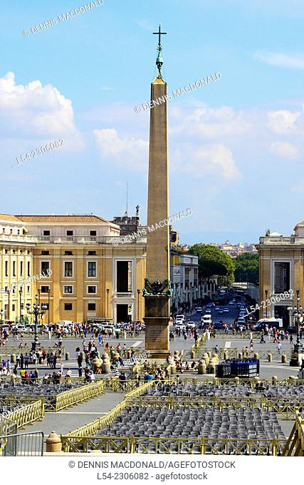 St. Peter's Square Rome Italy IT EU Europe