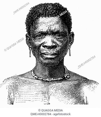 Portrait of a Bushman