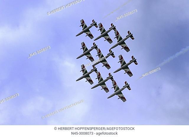 Bellaria Igea Marina Air Show, Delle Frecce Tricolori, Airshow, aerobatic demonstration team of the Italian Aeronautica Militare