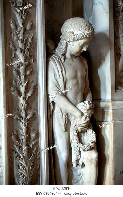 Florence - Basilica of Santa Croce interior