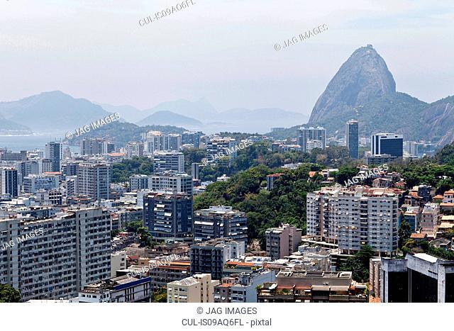 Elevated view, Rio de Janeiro, Brazil