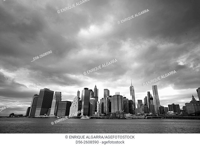 Manhattan skyline, NY, USA
