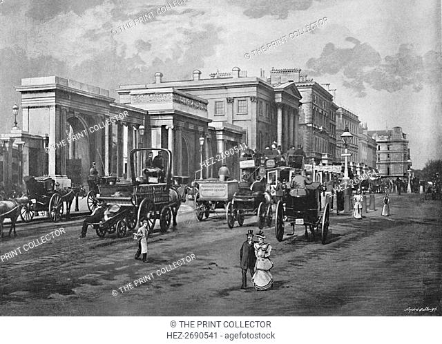 'Hyde Park Corner', c1896. Artist: Frith & Co