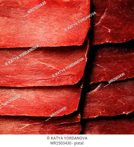 Slices of meat