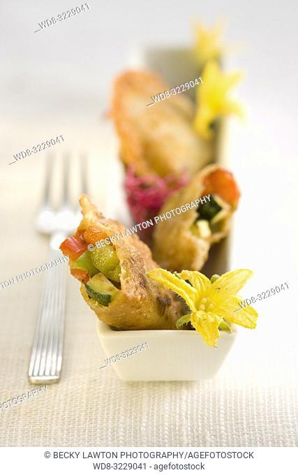Pincho de empanadillas de verduras