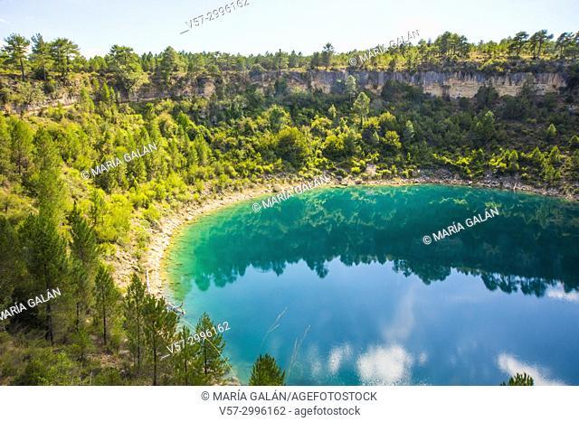Laguna del Tejo. Lagunas de Cañada del Hoyo Nature Reserve, Cuenca province, Castilla La Mancha, Spain