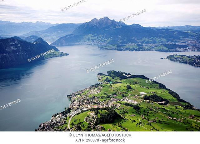 Lake Lucerne viewed from Mount Rigi, Switzerland