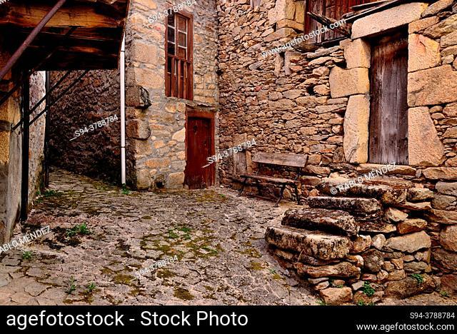 Alley of Manzaneda, Orense, Spain