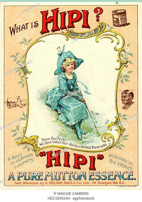 Hipi Mutton Essence, G Nelson Dale & Co Ltd., London, c.1900-1920