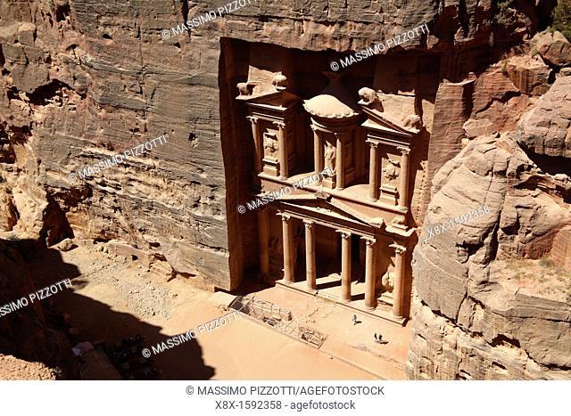 Al Khazneh or Treasury, Petra, Jordan
