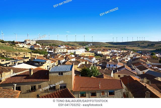 Higueruela village in Albacete at Castile La Mancha of Spain in Saint James Way of Levante