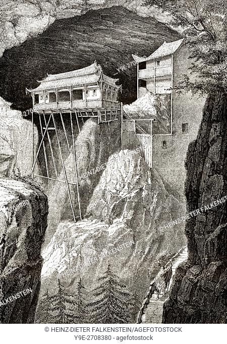 Old Chinese Temple, 19th century