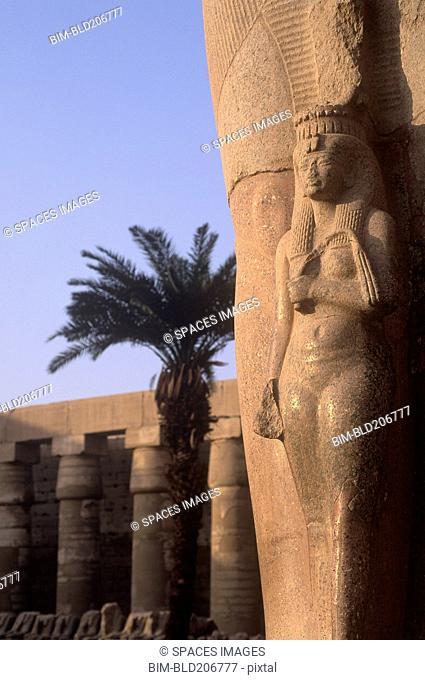 Column Relief at Karnak
