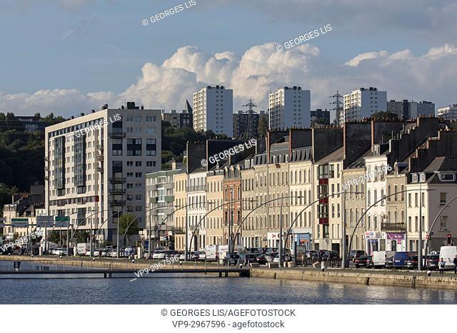 Quai de France. Cherbourg-Octeville, Normandy, France