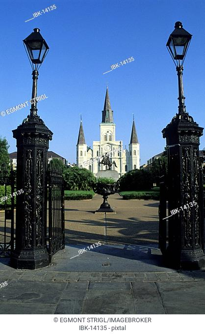 Cathedral of New Orleans in the French Quarter