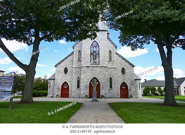Pittsfield, Massachusetts, USA St. Joseph, Roman Catholic Church on North Street