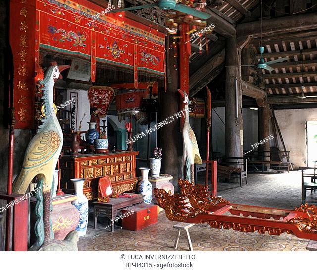 Community hall, Dinh Phat Loc, Thai Binh Province - North Vietnam