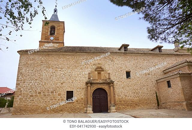 Senora de Asuncion church in Villa Don Fadrique at Toledo spain